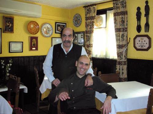 Cecilio y Luis Alberto Lera foto - curso de ayudante de cocina